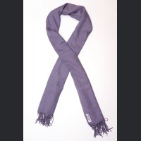 Pashmina no: 12 lila, scarf / shawl , cashmere and silk
