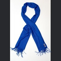 Pashmina no: 17 blue electric, scarf / shawl , cashmere and silk