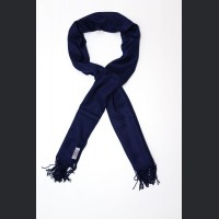 Pashmina no: 32 navy blue, scarf / shawl , cashmere and silk