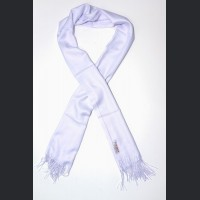 Pashmina no : 40 white , scarf / shawl , cashmere and silk