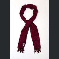 Pashmina no: 9 wine red, scarf / shawl , cashmere and silk