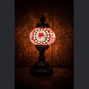 Mosaic Table Lamps  (Small globe) (8)